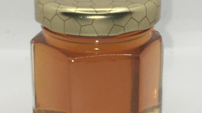 Hex Jar Favor, comb lid 1.75oz