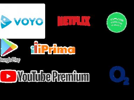 Češi a streamovací služby
