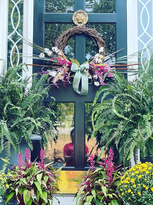 Mauve Fall wreath