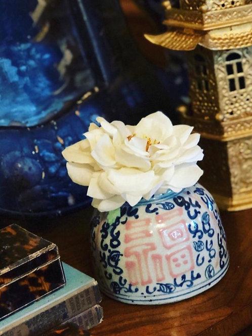 Pink water drop jar / vase