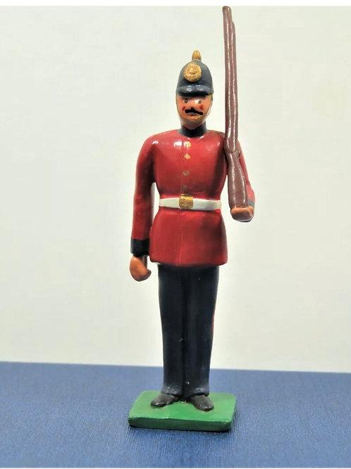 Lead British infantry soldier