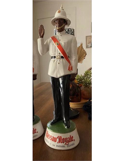 Huge Bahamas police decanter