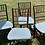 Thumbnail: Faux bamboo chair set