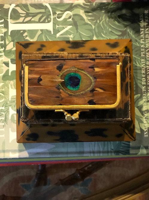 Feather trinket box