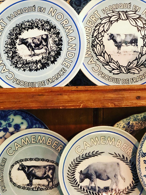 French plate set