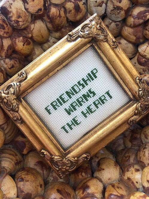 Friendship piece