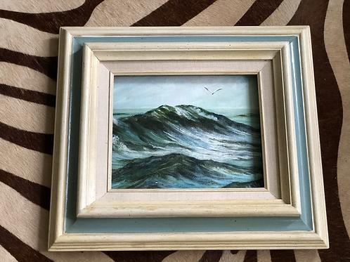 Frame oil on canvas