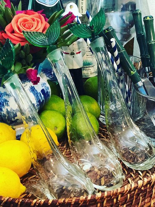 Vintage koi fish decanters