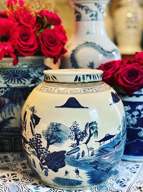 Landscape jar