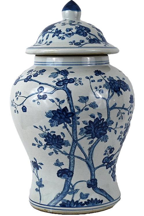 Tree temple jar