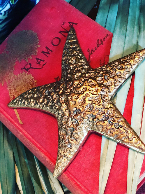 Brass starfish