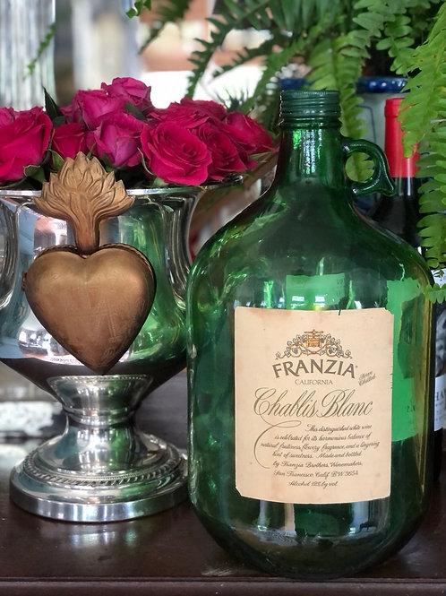 Vintage Franzia wine jug