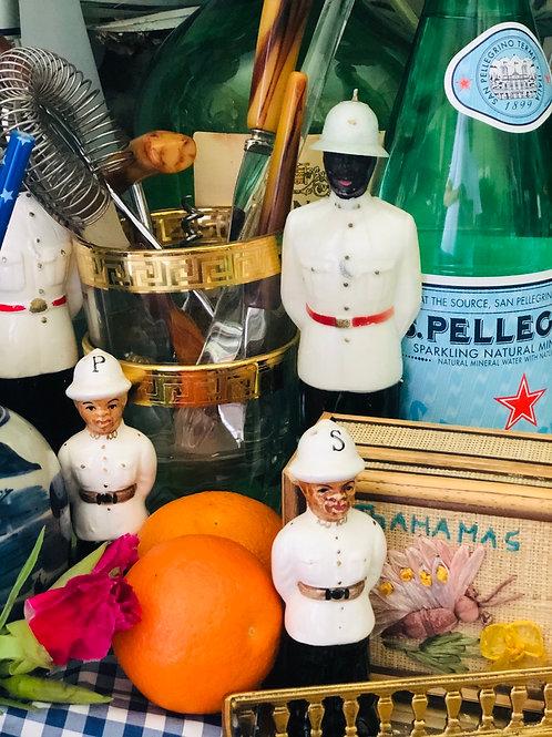 Bahamas police salt and pepper
