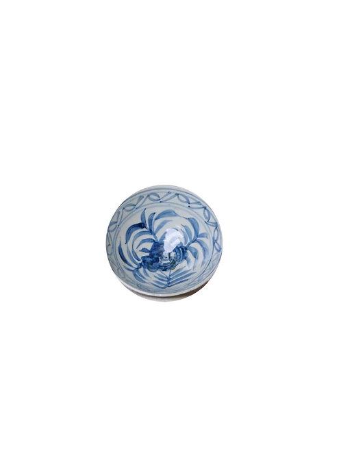 Floral trinket bowl