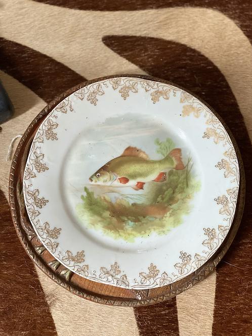 Vintage fish plate