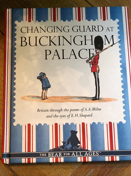Changing guard at Buckingham Palace book