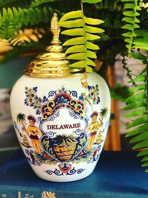 Delaware tobacco jar