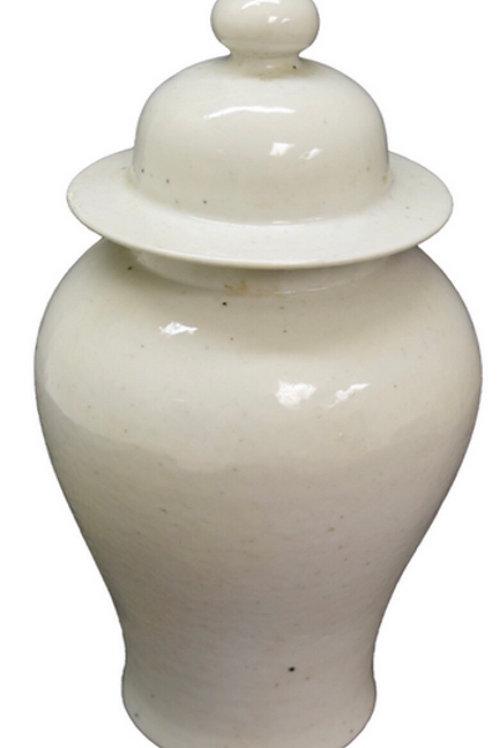 White temple jar