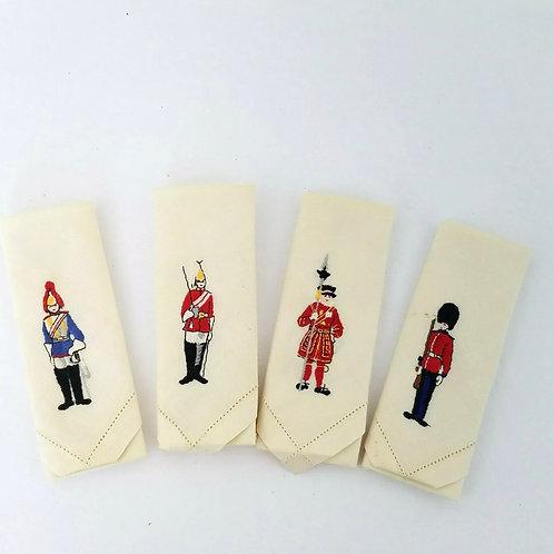Guard linen napkins