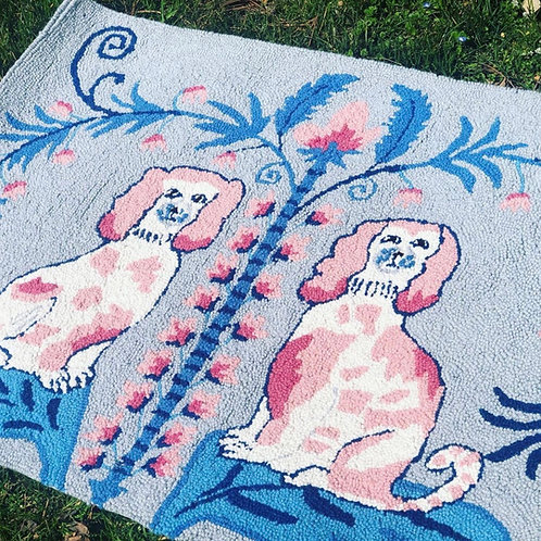 Staffordshire loomed rug
