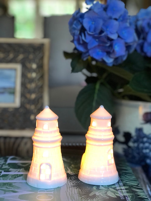 Mini lighthouses