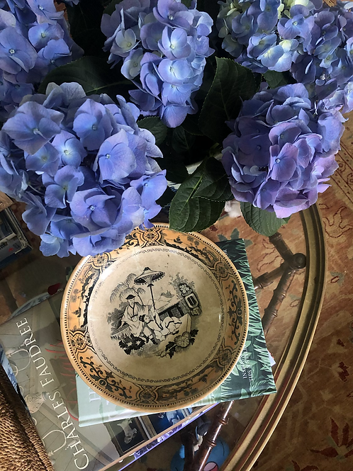 Vintage chinoiserie bowl