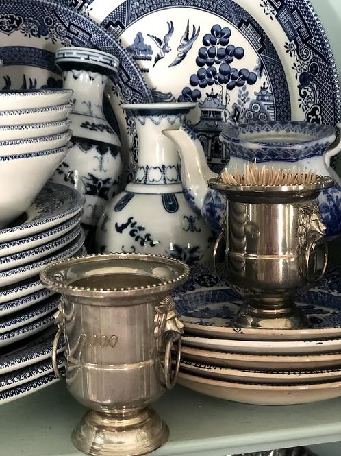 Silver plate mini urns - 2000