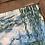 Thumbnail: Canvas artwork in handmade wooden frame