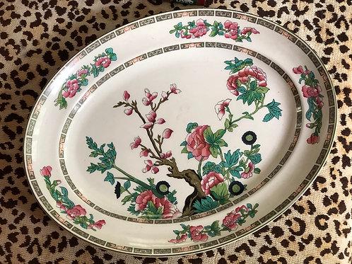 Vintage Indian tree platter