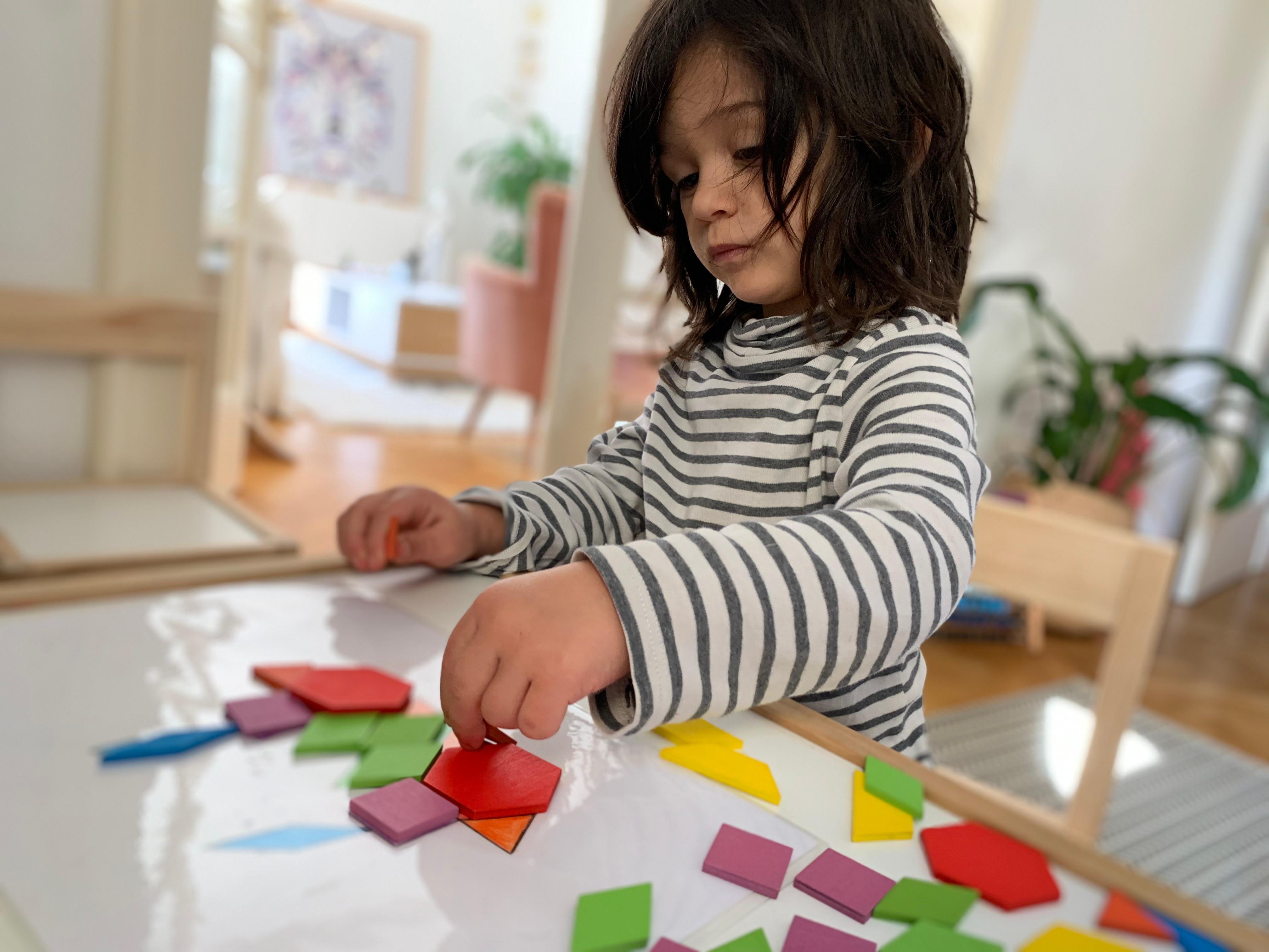 Montessori - de la marche assurée à 3ans