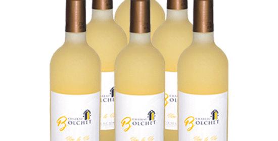 6 bouteilles Costière de Nîmes 2017 - Blanc - Vive la Vie