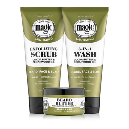 120-Year-Old Black Men's Care Brand Magic Expands to Beard Care
