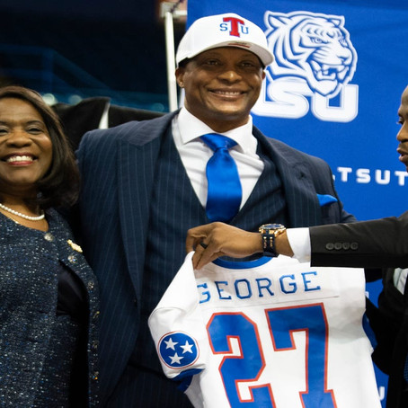 Former NFL Star Eddie George Tapped to be Next Head Football Coach for Tennessee State