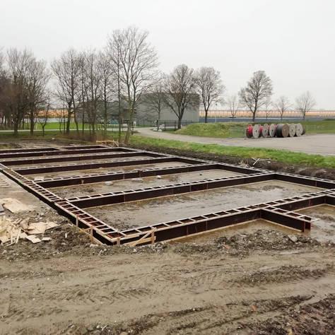 Logiesgebouw bij Kwekerij Helderman te Agriport Middenmeer