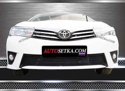 Premium защита радиатора Toyota Corolla 2013-
