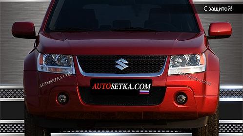 Premium защита радиатора Suzuki Grand Vitara 2008X