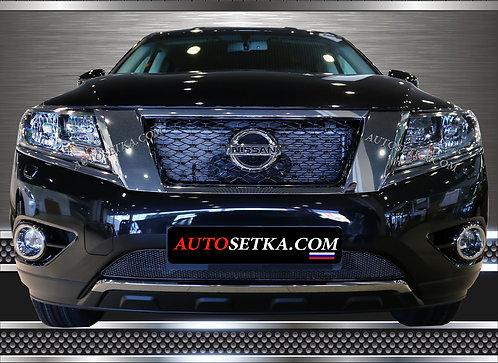 Premium защита радиатора Nissan Pathfinder (2014-)