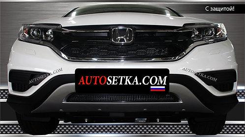 Premium защита радиатора Honda CR-V 2.0 (2015)Х
