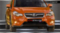 Защита радиатора Subaru XV (2013-)