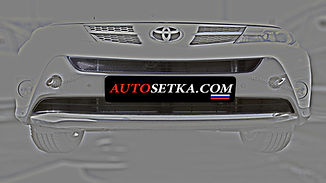 Защита радиатора Toyota RAV-IV (2013-)
