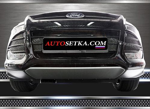 Premium защита радиатора Ford Kuga 2013- Ч