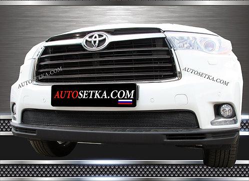 Premium защита радиатора Toyota Highlander 2014- Х