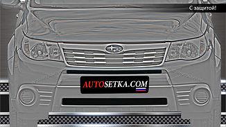 Защита радиатора Subaru Forester (2013-)