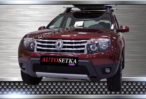 Premium защита радиатора     Renault Duster 2010-*