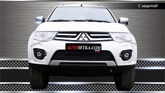Защита радиатора Mitsubishi L200 (2014-)