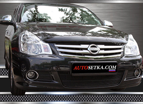 Premium защита радиатора Nissan Almera (2013-)