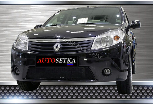 Premium защита радиатора Renault Sandero 2010-2014
