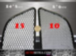 Размер ячеи. 14*8 и 8*6 мм