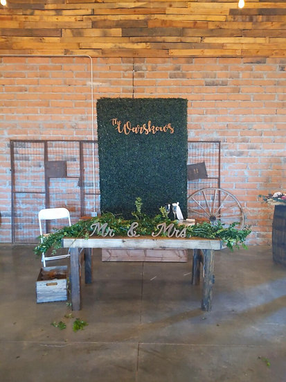 Artificial Boxwood Hedge Wall