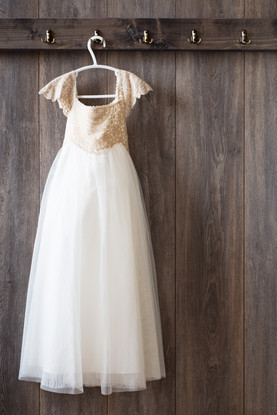 robe blanche enfant mariage